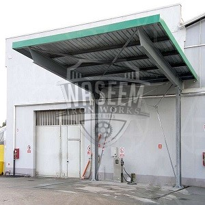 Buy Cantilever Roof For Fuel Pump Industry In Karachi